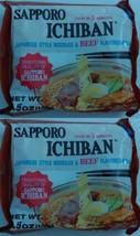 SAPPORO NOODLE ICHIBAN BEEF FLAVOR, 3.5 OZ - 10 Packs - $18.80