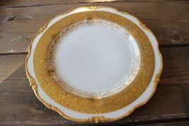 Antique Plainemaison Limoges Gold Plate Circa 1890 - $49.50
