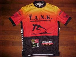 SUGOI Team T A N K Neuro Kinetically Orange Black Men Bike / Cycling Jersey  - $23.75
