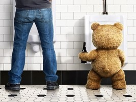 Ted Movie Beer Toilet Comedy Funny 32x24 Print ... - $13.95
