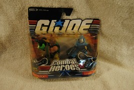 G.I.JOE Combat Heroes Cobra Roadbblock 2 Pack Hasbro 2008 Super Hero Squad - $19.79