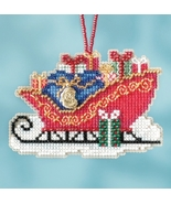 Traditional Sleigh 2017 Charmed Sleigh Ride Ornaments cross stitch kit  ... - $7.20