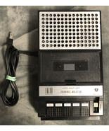 Vintage Channel Master 6322 Portable Cassette Recorder - Works Great! - $24.74