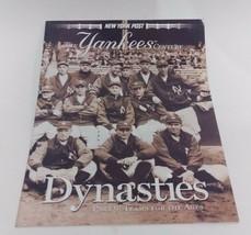 NEW YORK POST--THE YANKEES CENTURY PART 9: DYNASTIES - $5.35