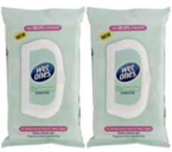 Pack of 2, Wet Ones Wipes, On The Go, Original, 40 Wipes with Lid  - $16.98