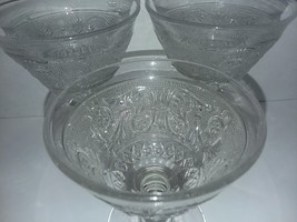Duncan & Miller Early American Sandwich Glass Clear Footed Sherbet/ Cham... - $9.49