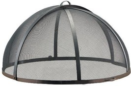 """Good Directions 30"""" Dia. Patio / Deck Large Fire Pit  Spark Screen - $162.00"""