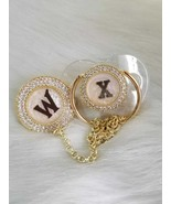 Marble Design Pacifier and Clip - $35.00+