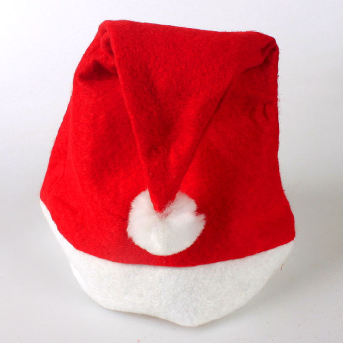 Primary image for classic Xmas Red Cap Unisex Adult Santa Hat for Christmas Party Novelty Hat Part