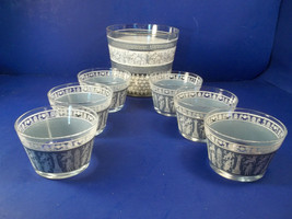LOT OF MID CENTURY STARLYTE? GLASS BOWLS - 6 SMALL, 1 LARGE - $19.99