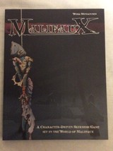 Malifaux a character driven skirmish game 1st edition SC - $5.00