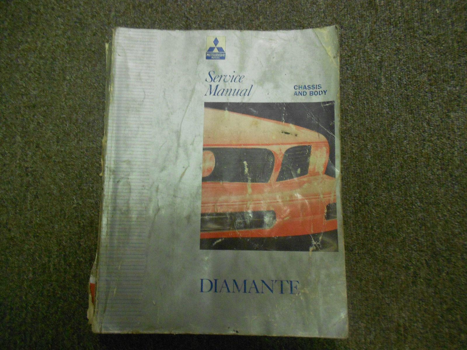 1992 MITSUBISHI Diamante Service Repair Manual VOL 1 FACTORY OEM BOOK DEAL 92