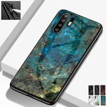 For Huawei P20 Pro Nova 3e 3i Mate20 Glass Hard Back Hard Silicon Back Case - $56.83