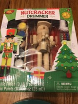 MasterPieces Works of Ahhh Nutcracker Drummer Large Wood Paint Kit Ships... - $18.99