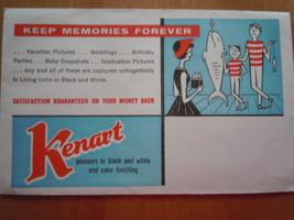 Vintage Kmart Kenart Photo Envelope  - $3.99