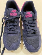 M119 New Balance 500 Women Lifestyle GW500SN Shoes - BLUE/PINK Us 7 - $42.52