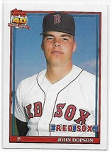1991 Topps #94 John Dopson NM-MT Red Sox - $0.99