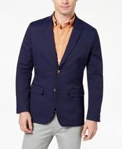 99$ Club Room Blue Mens Two Button Performance Blazer - $49.99