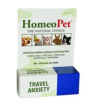 HomeoPet Travel Anxiety, 15 ml - $12.63