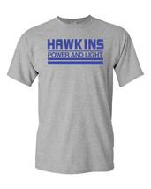 Hawkins Power and Light Stranger Things Men's Tee Shirt 1731 - $9.85+