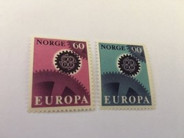 Norway Norge Europa 1967 mnh          stamps - $1.75