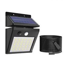 ERAY Lumière Solaire Extérieure Jardin avec Détecteur de Mouvement, 30 L... - $27.46