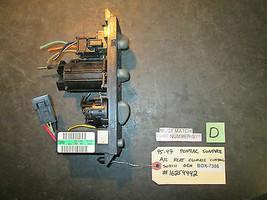 95 96 97 Pontiac Sunfire A/C Heat Climate Control Switch Oem #16254442 - $23.76