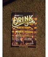 Detroit Metro Times Drink Pocket Bar Guide 2019 2020 Edition Booklet Book - $9.90