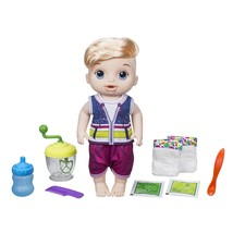 New! Baby Alive Sweet Spoonfuls Blond Boy Doll HASBRO Officially Licensed NIB - $28.99