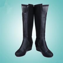Black Widow Cosplay Boots Halloween Shoes - $59.00