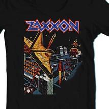 Zaxxon T-shirt retro vintage arcade video game 1980s black cotton graphic tee image 2