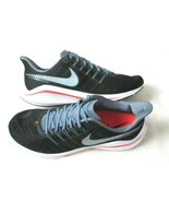 Nike Mens Air Zoom Vomero 14 Running Shoes Black Bright Crimson Size 13 ... - $94.04