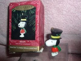Peanuts Snoopy dog full body Miniature  Handcrafted Hallmark Keepsake Or... - $19.99