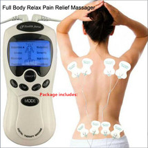 8 Pads Full Body Massager Machine Digital Therapy Muscle Pain Relief Acu... - $14.99+