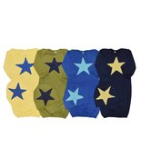 Unique Baby Boys 4 Pack Star Design Gown and Matching Cap 12 months - $57.99