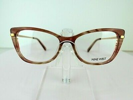 Nine West NW 5164 (260) Blush Pearlized 51-15-135  Eyeglass Frame - $59.35