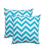TreeWool, Cotton Canvas Chevron Accent Decorative Throw Pillowcases (Pac... - $15.99