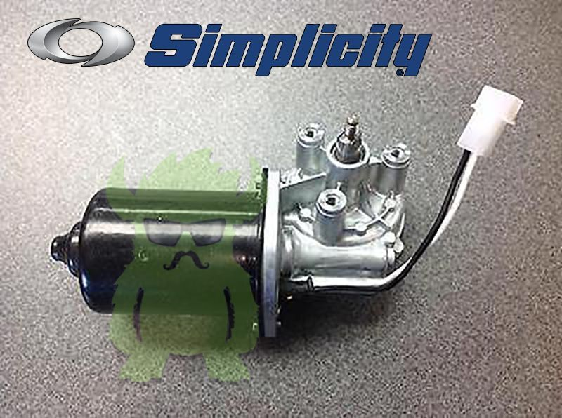 Simplicity 1715885SM OEM Electric Motor Tractor Snow Blower, Snow Thrower Motor