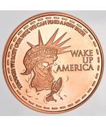 Wake Up America Zombie Apocalypze - 1 Oz .999 F... - $3.99