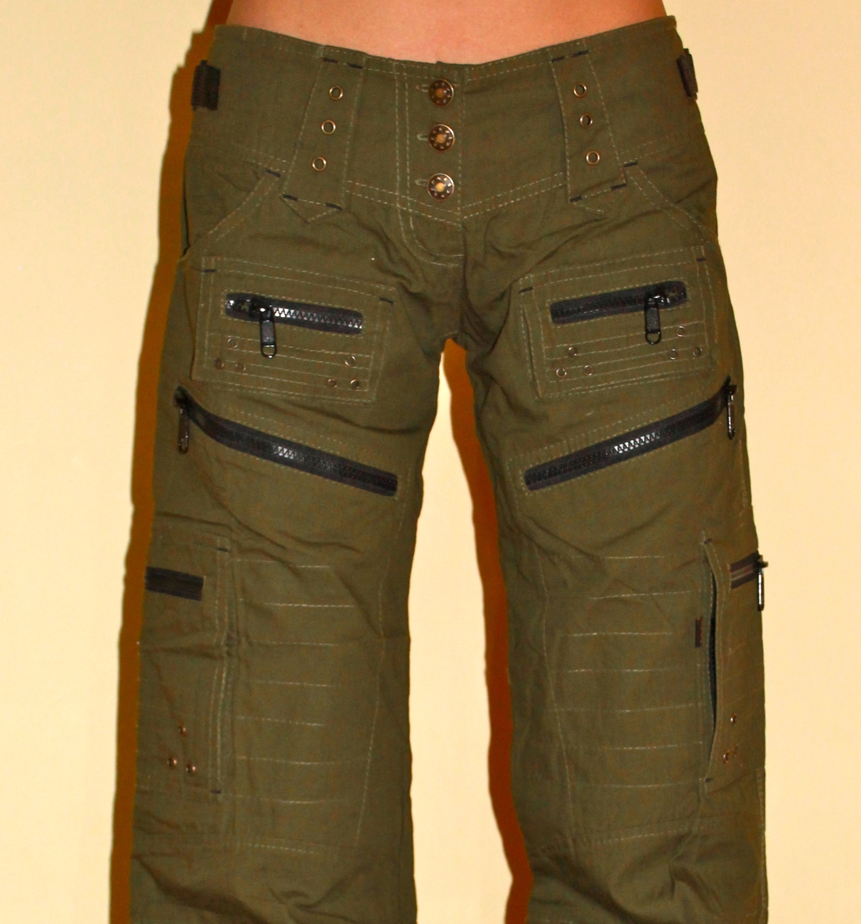 Unique Home Mens Pants Amp Chinos Cogged Cargo Pants In Green