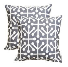 TreeWool, Cotton Canvas Octaline Accent Decorative Throw Pillowcases (Pa... - $287,58 MXN