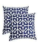 TreeWool, Cotton Canvas Octaline Accent Decorative Throw Pillowcases (Pa... - $16.99