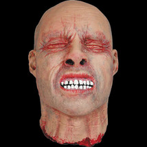Realistic Life Size Bloody ZOMBIE SEVERED HUMAN HEAD Haunted House Horro... - $39.57