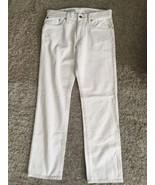 NWT Men's Gap Straight White Jeans, Size 30x30 - $49.99