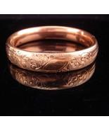 1900s Victorian bracelet / rose gold filled bracelet / antique bracelet ... - $245.00