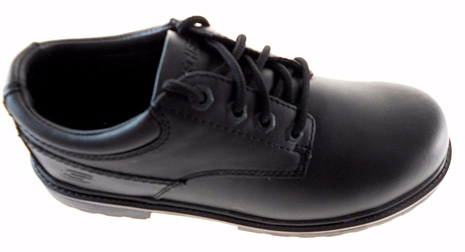 Skechers Kellet Black Leather Oxford Shoes and similar items