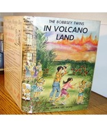 Bobbsey Twins #54 in Volcano Land in DJ 1st ed? - $35.00