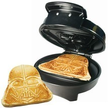 Star Wars Darth Vader Automatic Waffle Maker Non Stick Dorm Room Kitchen... - $63.96 CAD