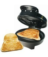 Star Wars Darth Vader Automatic Waffle Maker Non Stick Dorm Room Kitchen Camper - $50.60