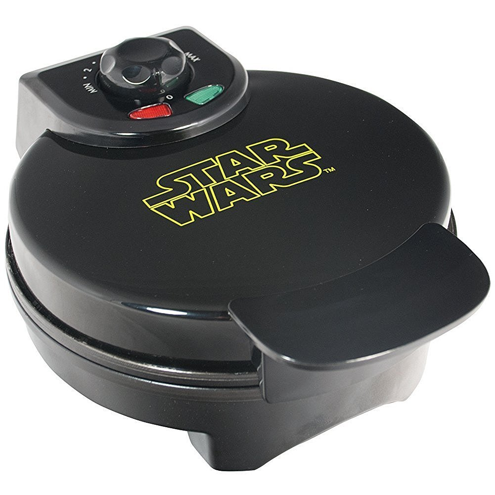 Star Wars Darth Vader Automatic Waffle Maker Non Stick Dorm Room Kitchen Camper